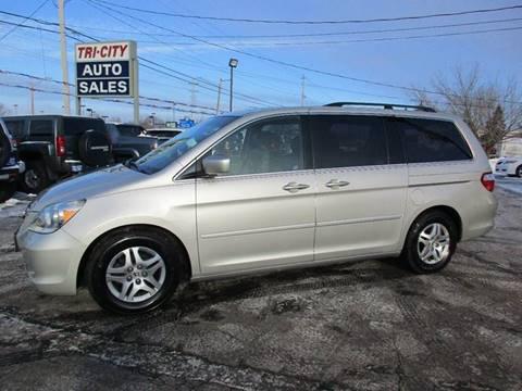 2006 Honda Odyssey for sale at TRI CITY AUTO SALES LLC in Menasha WI