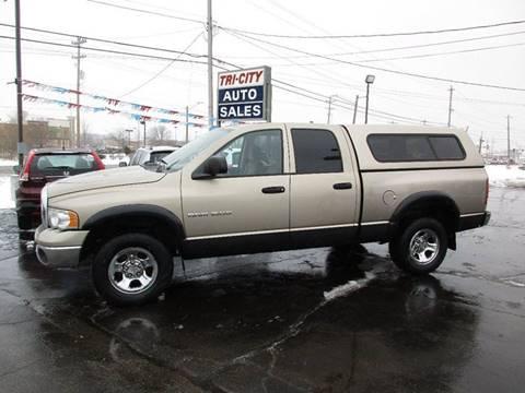 2003 Dodge Ram Pickup 1500 for sale at TRI CITY AUTO SALES LLC in Menasha WI