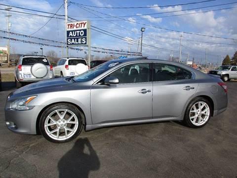 2009 Nissan Maxima for sale at TRI CITY AUTO SALES LLC in Menasha WI