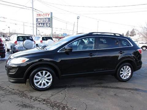 2010 Mazda CX-9 for sale at TRI CITY AUTO SALES LLC in Menasha WI