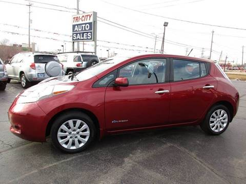 2013 Nissan LEAF for sale at TRI CITY AUTO SALES LLC in Menasha WI