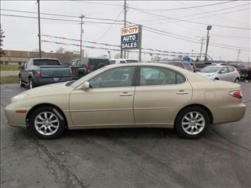 2002 Lexus ES 300 for sale at TRI CITY AUTO SALES LLC in Menasha WI