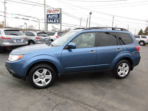 2009 Subaru Forester for sale at TRI CITY AUTO SALES LLC in Menasha WI