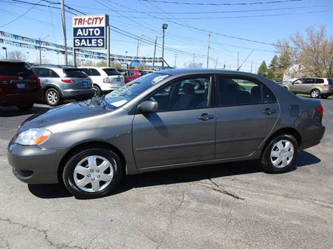 2006 Toyota Corolla for sale at TRI CITY AUTO SALES LLC in Menasha WI