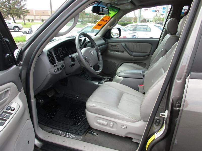 2005 Toyota Sequoia for sale at TRI CITY AUTO SALES LLC in Menasha WI