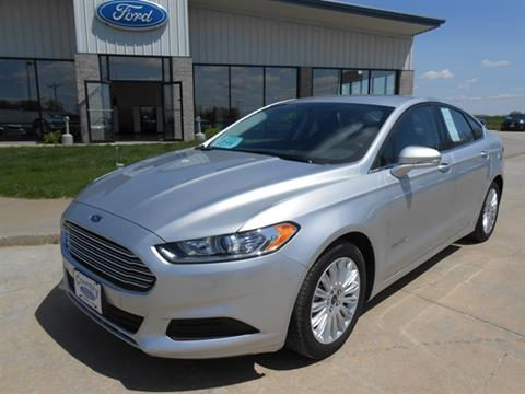 2016 Ford Fusion Hybrid for sale in Tyndal, SD