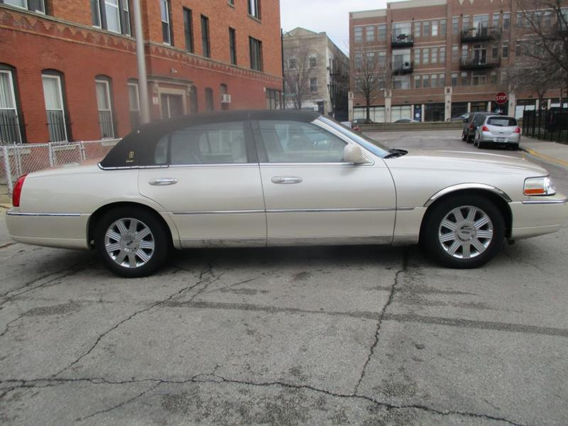 2003 Lincoln Town Car Cartier 4dr Sedan In Chicago Il World