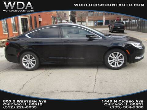 2015 Chrysler 200 for sale in Chicago, IL