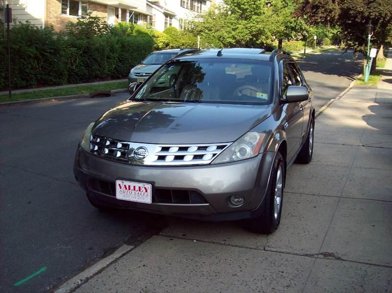 2004 Nissan Murano Sl Awd 4dr Suv In South Orange Nj Valley Auto Sales