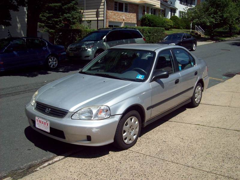 1999 Honda Civic Lx >> 1999 Honda Civic Lx 4dr Sedan In South Orange Nj Valley