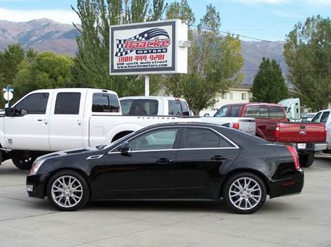 2013 Cadillac CTS for sale at Haacke Motors in Layton UT