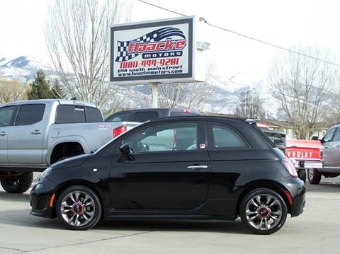 2014 FIAT 500c for sale at Haacke Motors in Layton UT