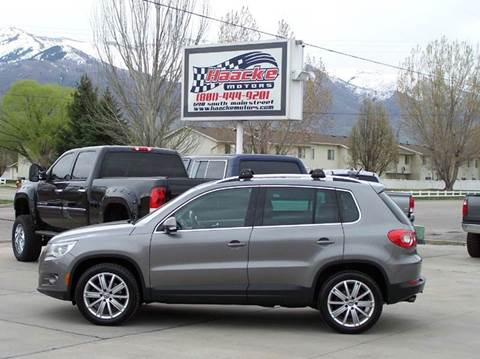 2009 Volkswagen Tiguan for sale at Haacke Motors in Layton UT