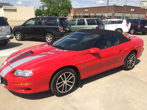 2002 Chevrolet Camaro For Sale In Nebraska Carsforsale Com