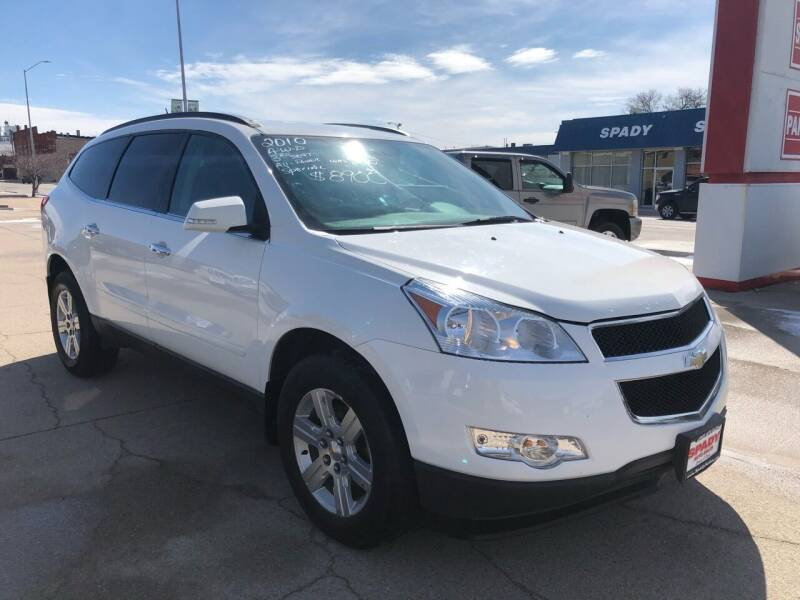 2010 Chevrolet Traverse for sale at Spady Used Cars in Holdrege NE