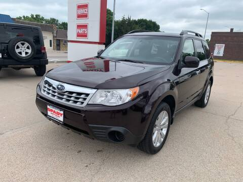 2013 Subaru Forester for sale at Spady Used Cars in Holdrege NE