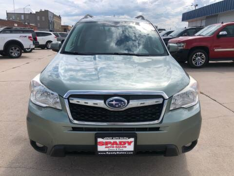 2014 Subaru Forester for sale at Spady Used Cars in Holdrege NE