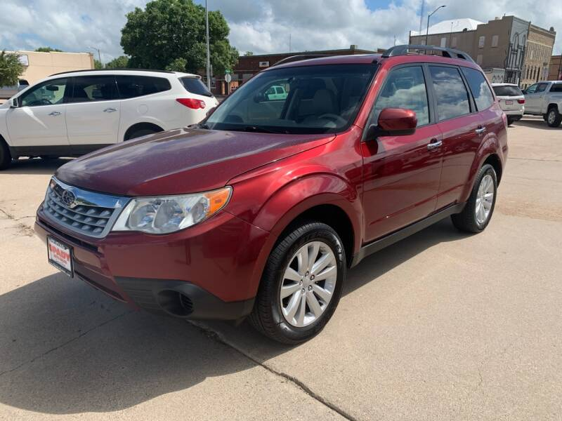 2012 Subaru Forester for sale at Spady Used Cars in Holdrege NE