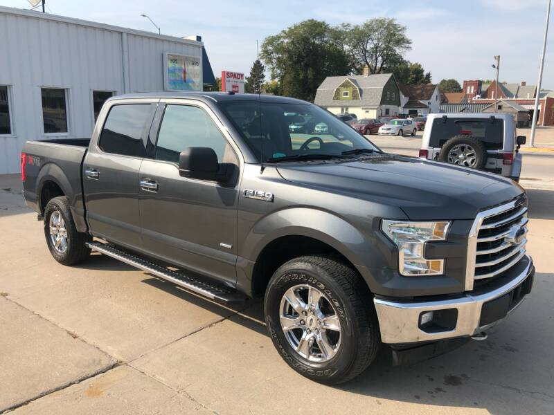 2017 Ford F-150 for sale at Spady Used Cars in Holdrege NE