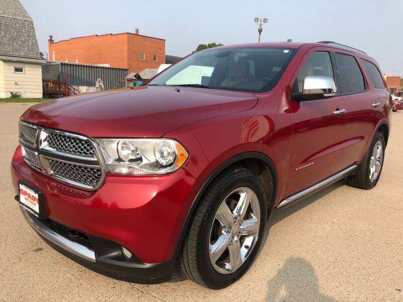 2011 Dodge Durango for sale at Spady Used Cars in Holdrege NE