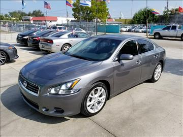 2014 Nissan Maxima for sale in Hollywood, FL