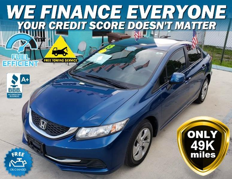 2013 Honda Civic For Sale At JIMMY MARTINEZ In Hollywood FL