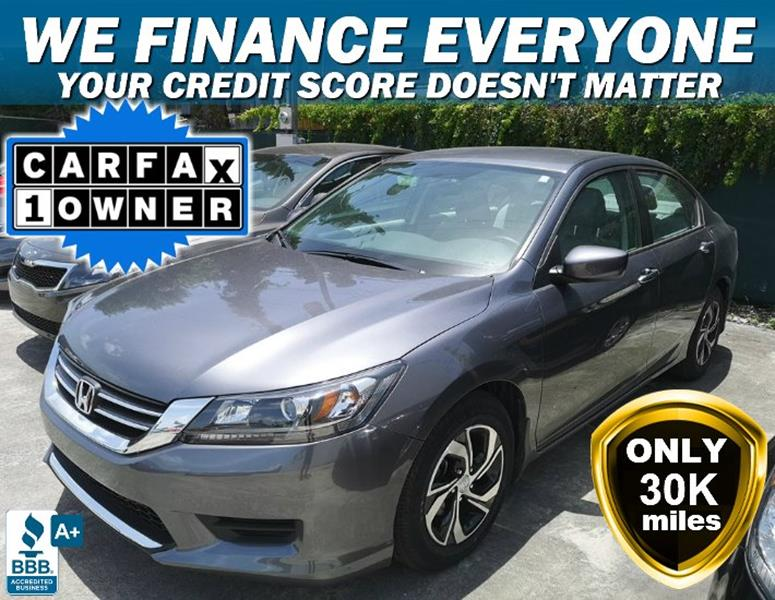 2016 Honda Accord For Sale At JIMMY MARTINEZ In Hollywood FL
