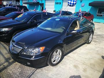 2005 Acura RL for sale in Hollywood, FL