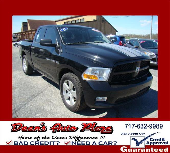 Toyota Dealer Quad Cities: 2012 Ram Ram Pickup 1500 4x2 ST 4dr Quad Cab 6.3 Ft. SB