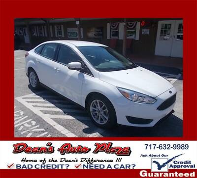 2018 Ford Focus for sale at Dean's Auto Plaza in Hanover PA
