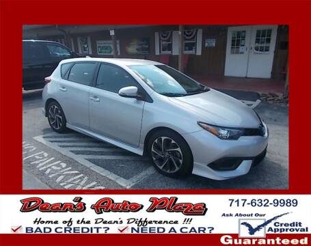 2017 Toyota Corolla iM for sale at Dean's Auto Plaza in Hanover PA