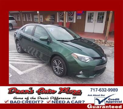 2016 Toyota Corolla for sale at Dean's Auto Plaza in Hanover PA