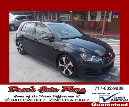 2016 Volkswagen Golf GTI for sale at Dean's Auto Plaza in Hanover PA