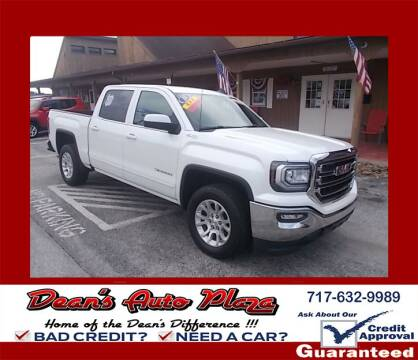 2018 GMC Sierra 1500 for sale at Dean's Auto Plaza in Hanover PA