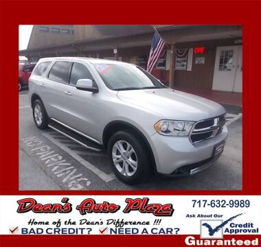 2012 Dodge Durango for sale at Dean's Auto Plaza in Hanover PA