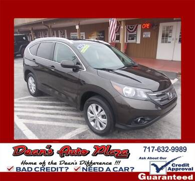 2013 Honda CR-V for sale at Dean's Auto Plaza in Hanover PA