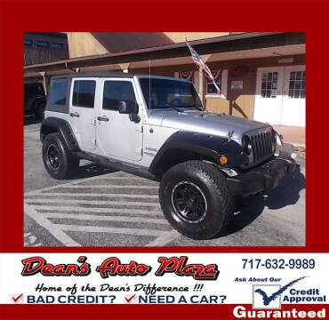 2010 Jeep Wrangler Unlimited for sale at Dean's Auto Plaza in Hanover PA