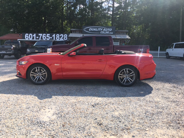 Ford Mustang Gt Premium Dr Convertible Collins Ms