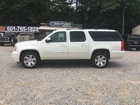 2011 GMC Yukon XL for sale at Quality Auto of Collins in Collins MS