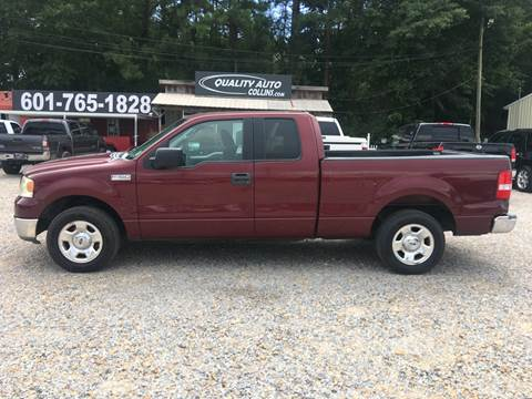 2004 Ford F-150 for sale at Quality Auto of Collins in Collins MS