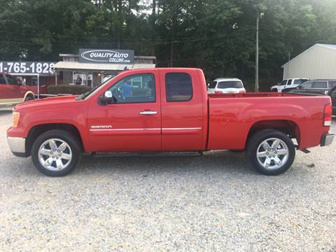 2012 GMC Sierra 1500 for sale at Quality Auto of Collins in Collins MS