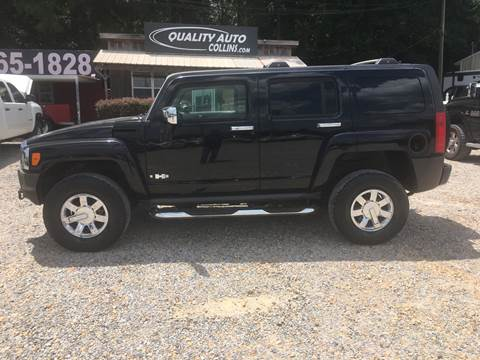 2006 HUMMER H3 for sale at Quality Auto of Collins in Collins MS