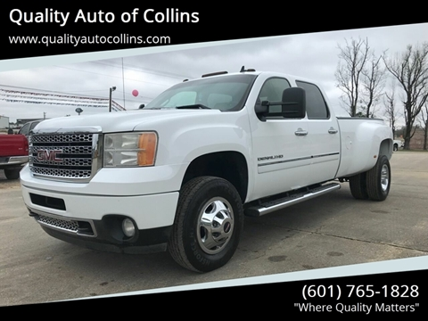 2011 GMC Sierra 3500HD for sale in Collins, MS