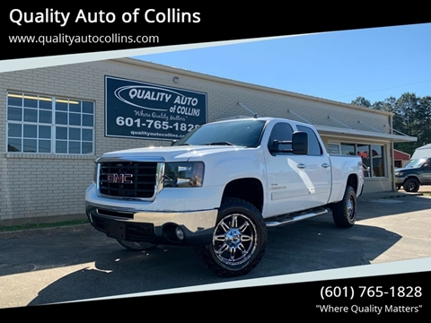 2007 GMC Sierra 2500HD for sale in Collins, MS