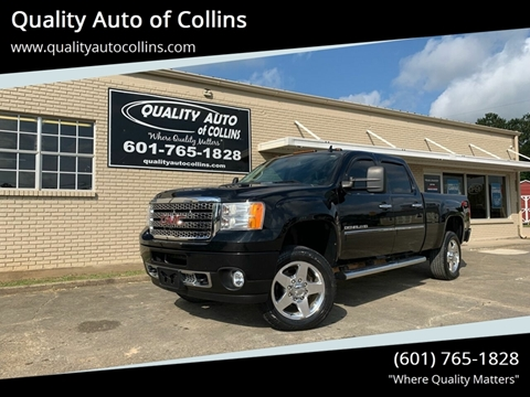 2013 GMC Sierra 2500HD for sale in Collins, MS