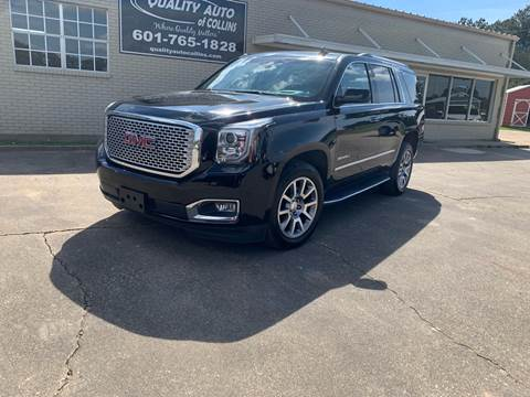 2017 GMC Yukon for sale in Collins, MS