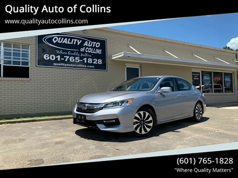 2017 Honda Accord Hybrid for sale in Collins, MS