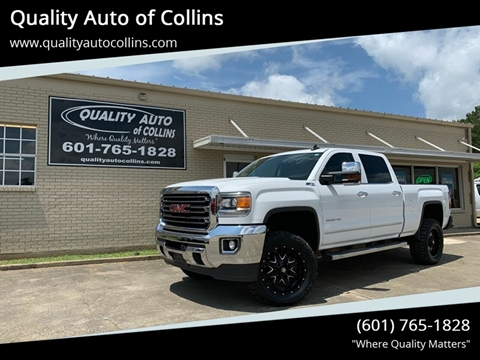 2015 GMC Sierra 2500HD for sale in Collins, MS