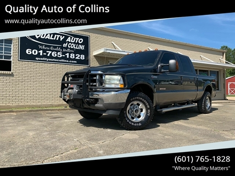 2004 Ford F-250 Super Duty for sale in Collins, MS