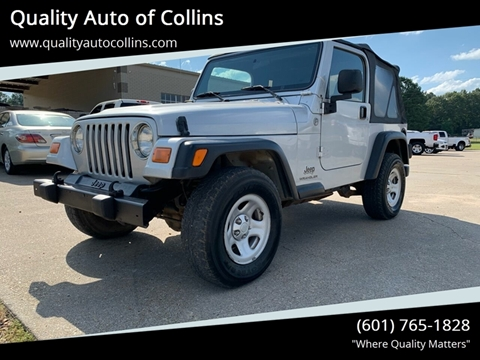 2005 Jeep Wrangler for sale in Collins, MS